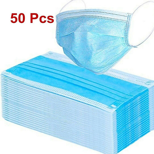Anti dust face mask with ear loop (50 pcs)