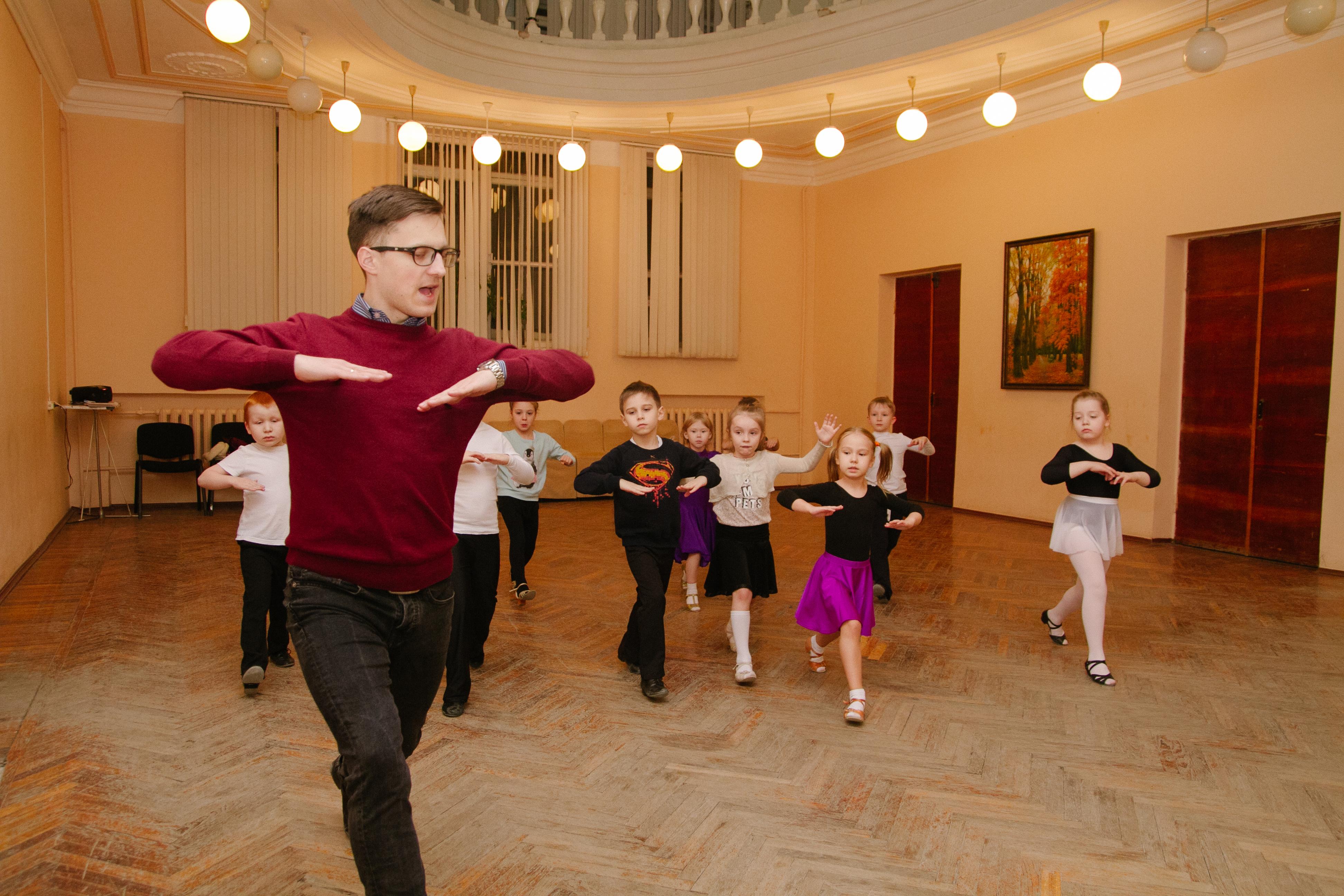 групповые танцы для детей