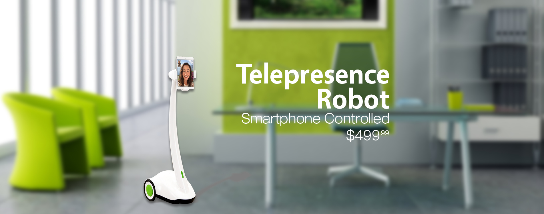 Tikteck_Telepresence Robot 1J