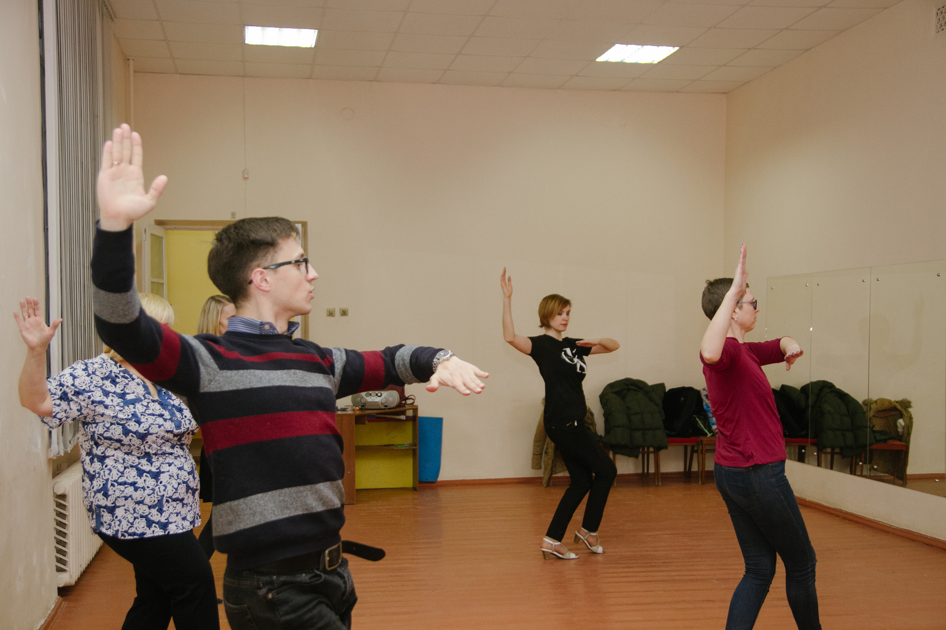 танцы для взрослых