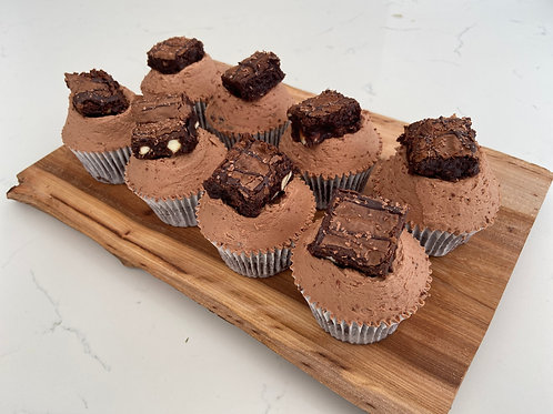 Chocolate Deluxe Cupcakes