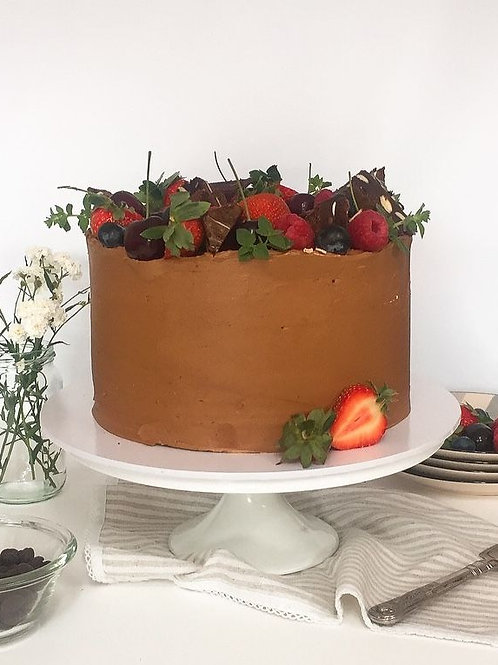 Chocolate Deluxe Gluten Free Layer Cake