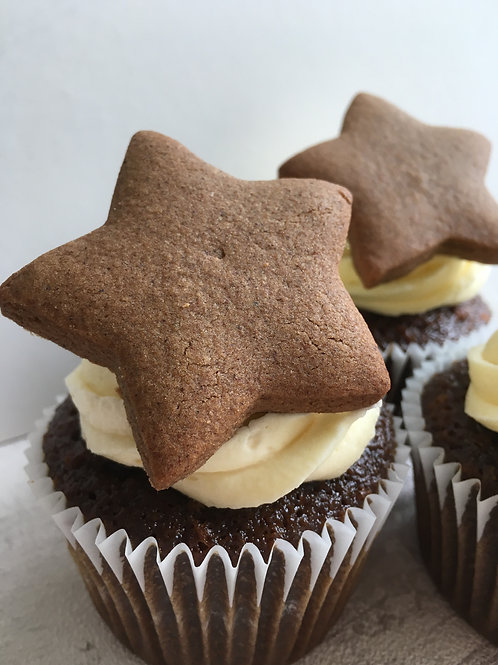 Gingerbread Gluten Free Cupcakes