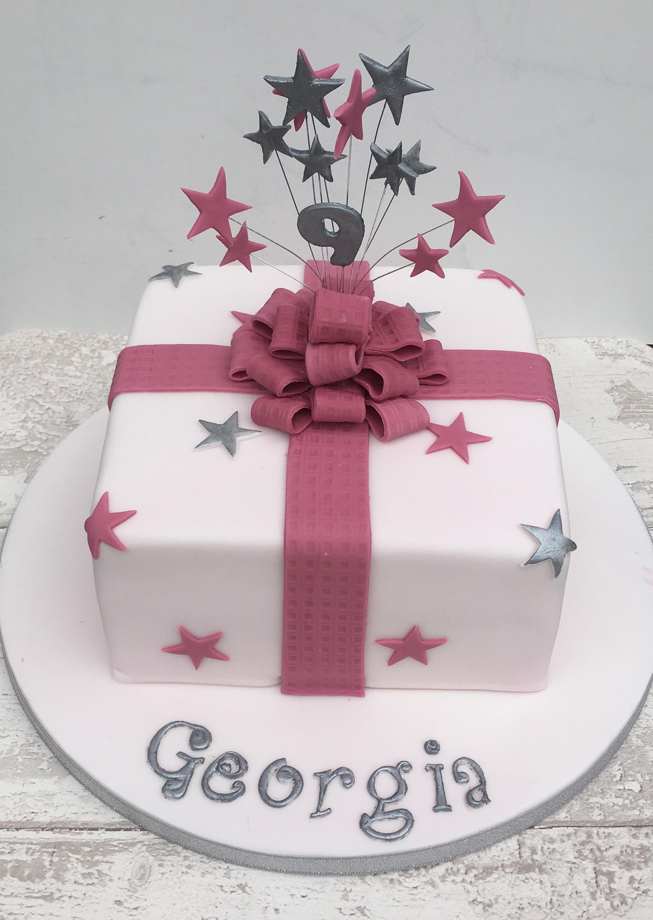 Funky Present Cake