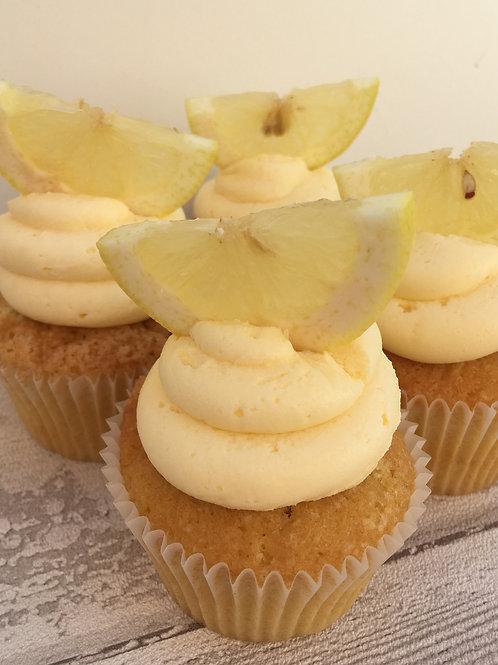 Lemon Drizzle Gluten Free Cupcake
