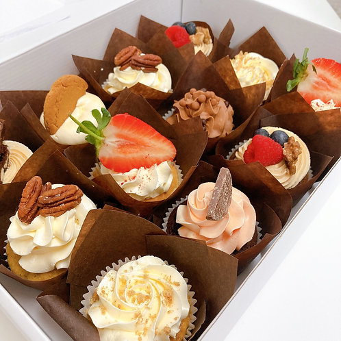 The Pudding Cupcake Box