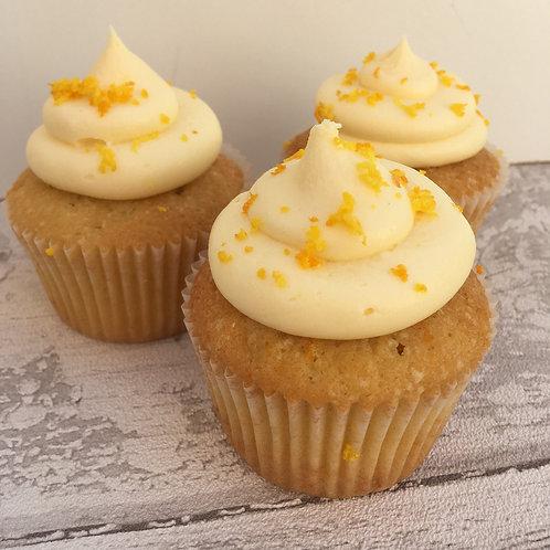 Citrus Orange Gluten Free Cupcake