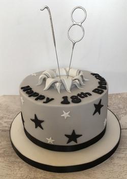Funky Birthday Explosion Cake