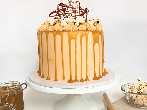 Salted Caramel Vegan Showstopper