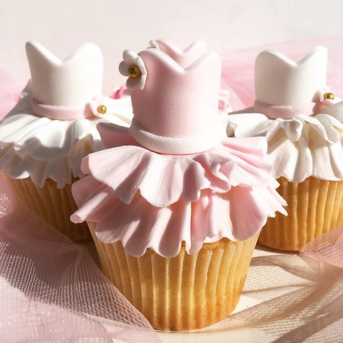 Pretty Ballerina Cupcakes