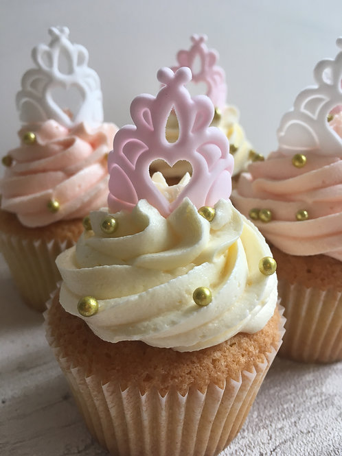 Beautiful Princess Cupcakes