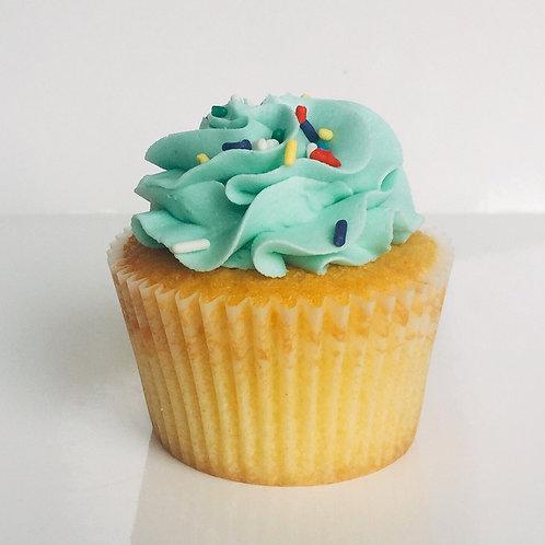 Gluten Free Madagascan Vanilla Cupcakes