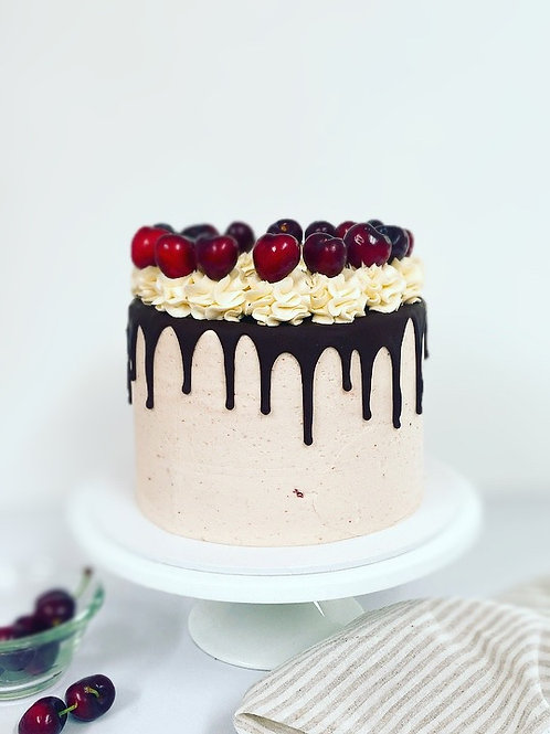 Black Forest Vegan Layer Cake
