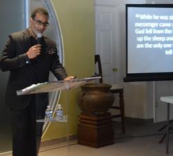 derrick preaching