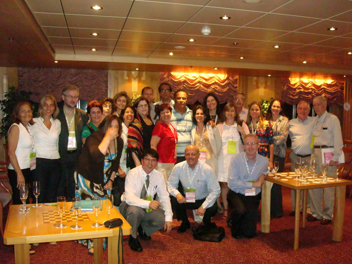 Diretores e delegados da SOGIA-BR