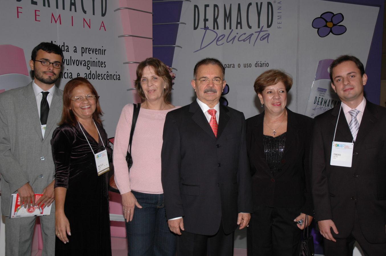 Presidente José Alcione com sua família e amigos