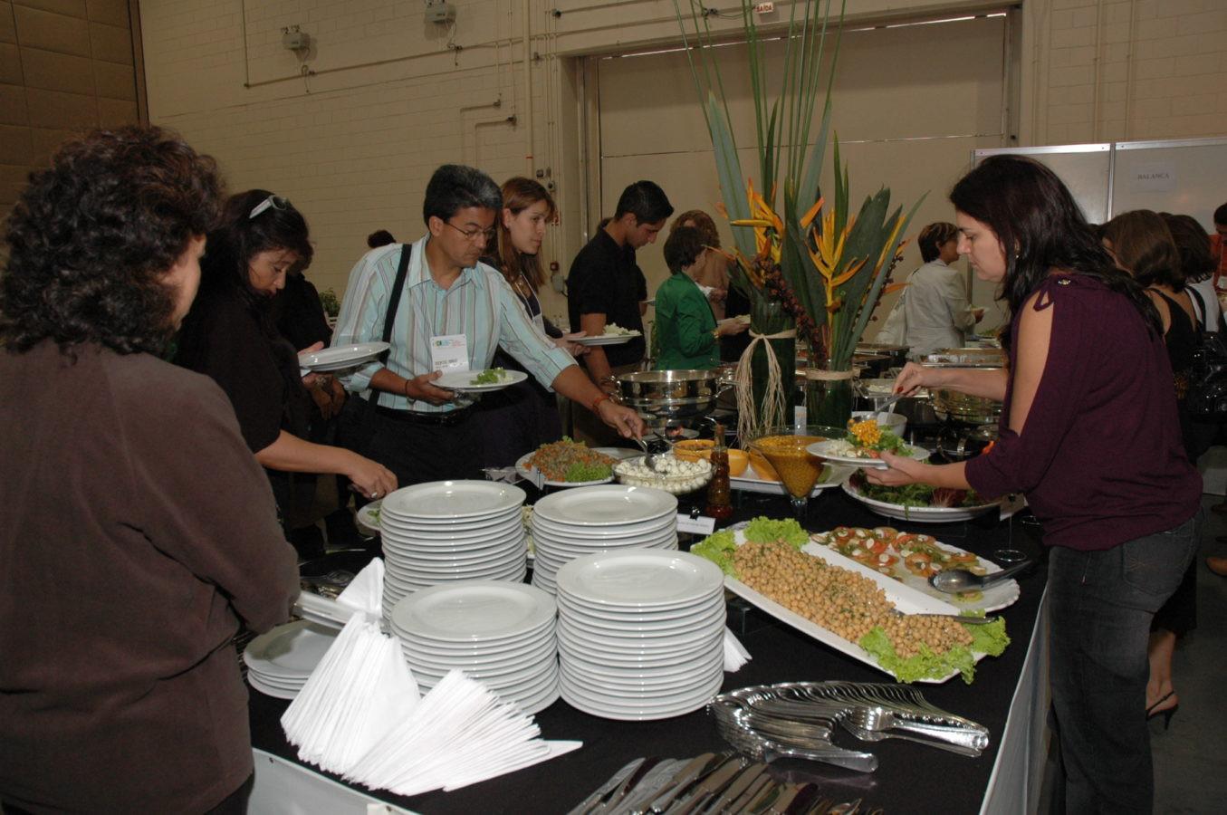 Restaurante para os congressistas