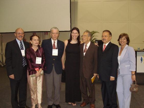 Grupo de dirigentes da SOGIA-BR com Prof. Bastos