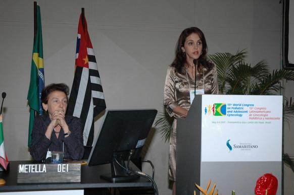 Zuleide Cabral em conferência