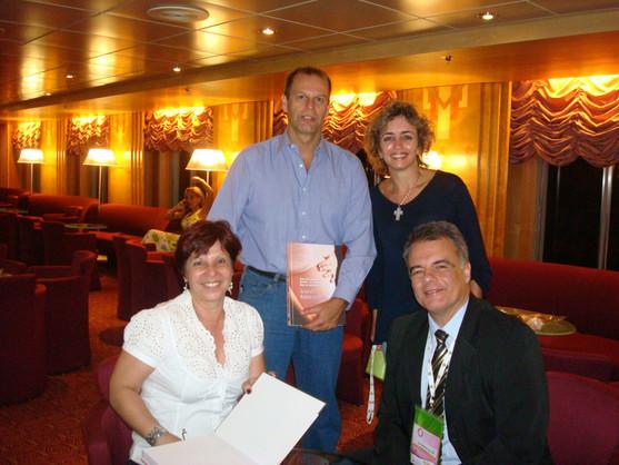 Denise, Alexandre Trajano, Claudia Salomão e João Tadeu