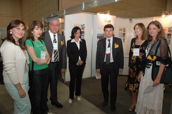 Delegação francesa em campanha para o XVI Congresso Mundial em Montpellier