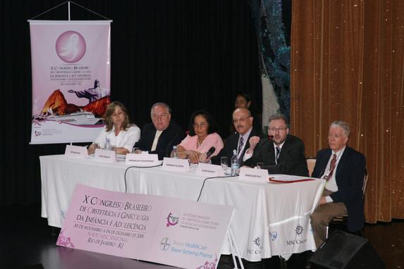 Abertura do congresso em 03.12.2008