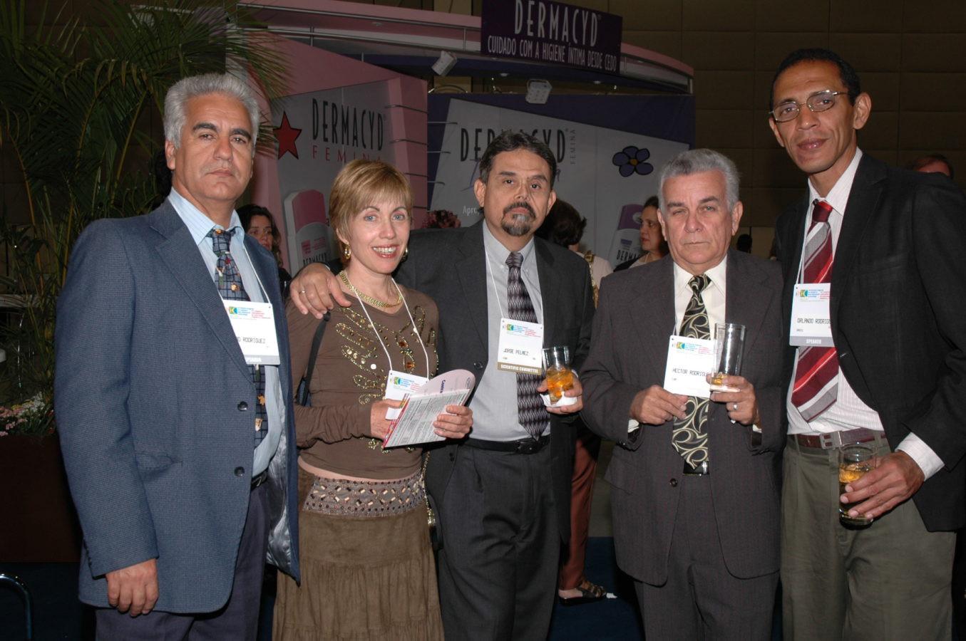Simpática delegação cubana
