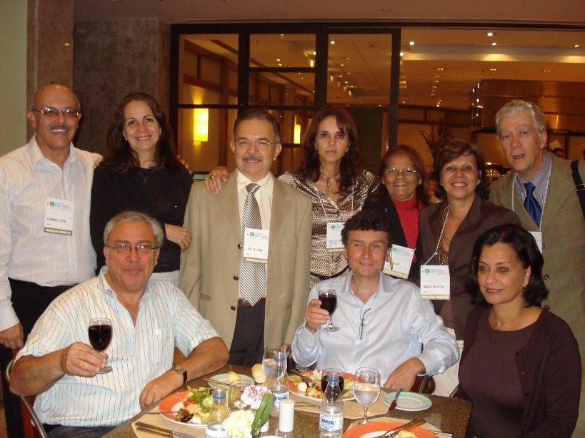 Dirigentes da SOGIA-BR com grupo francês