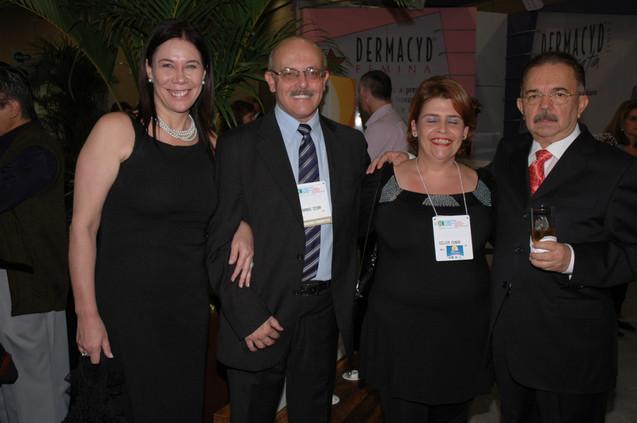 José Alcione, Marta Rehme, Fernando Cesar (saudoso) e Silvia