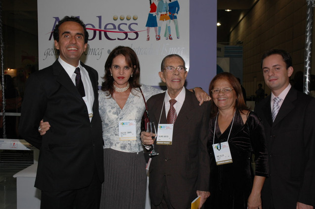 João Bosco, Zuleide Cabral, prof. Álvaro Bastos, Roberto Almeida
