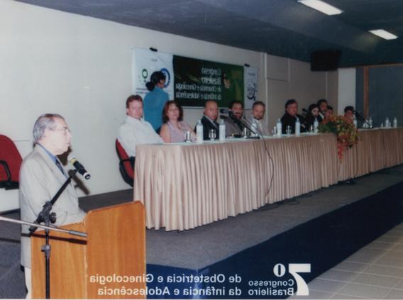 Prof. Álvaro Bastos, discurso na sessão solene de abertura.
