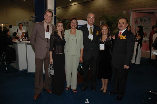 Presidente e Vice-Presidente da SOGIA-BR com suas famílias