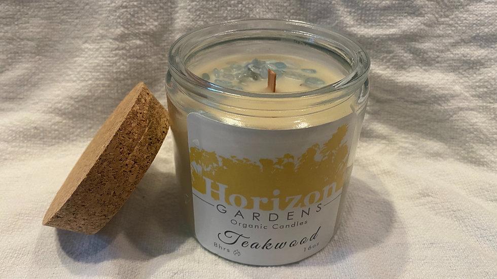 Organic Teakwood Candle