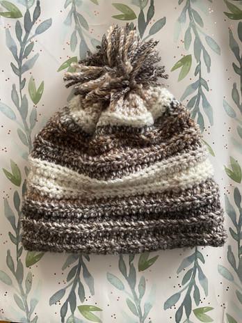 Handmade Crocheted Winter Beanie