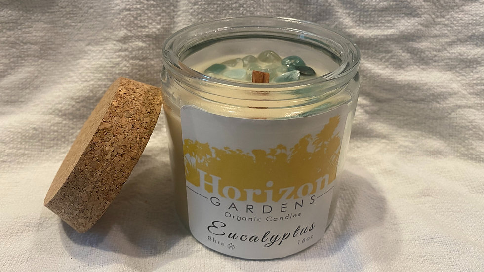 Organic Eucalyptus Candle