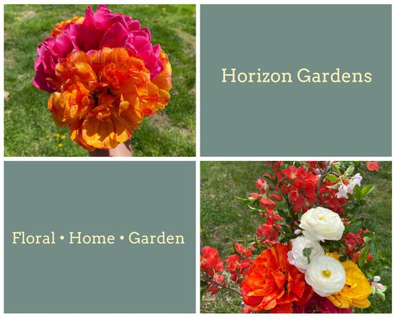Orgnaic Arrangment Cut From Horizons Garden