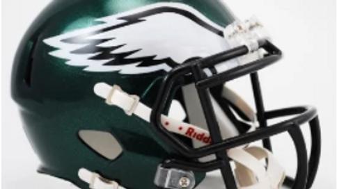 Philadelphia Eagles Mini Hemet