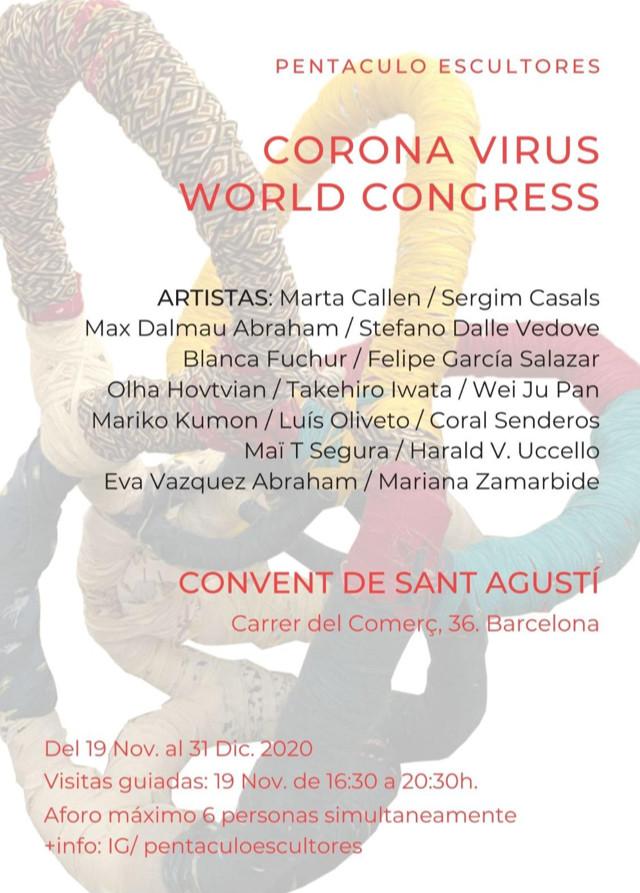 Exposición en el Convent de Sant Agusti de Barcelona. Inauguración el 19 de Noviembre