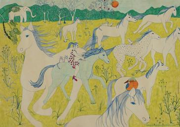 Horses (de la serie Dreams)