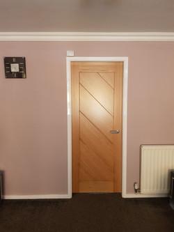 Deanta Torino Oak Door