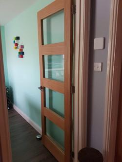 LPD Contemporary Oak Door