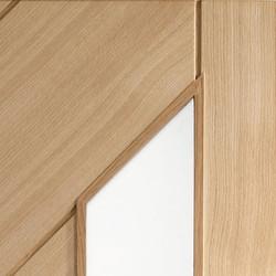 monza oak interior door