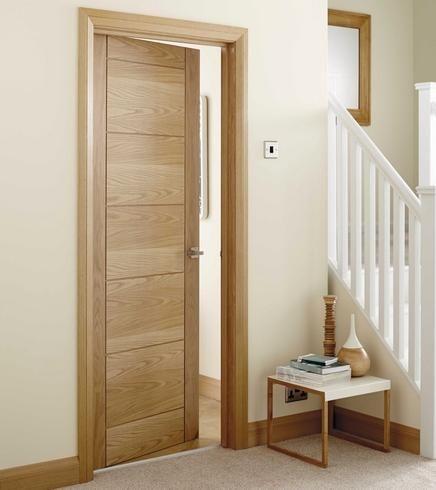 7 panel oak door