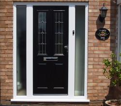 Livingstone Black Composite Door