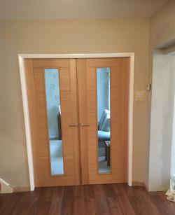 Oak French Doors