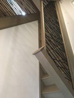 Grey Cast Iron Staircase