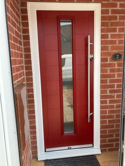 Red Verona Composite Door