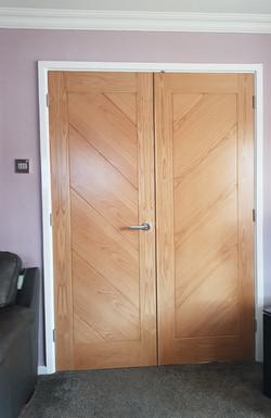 Deanta Torino Oak Doors