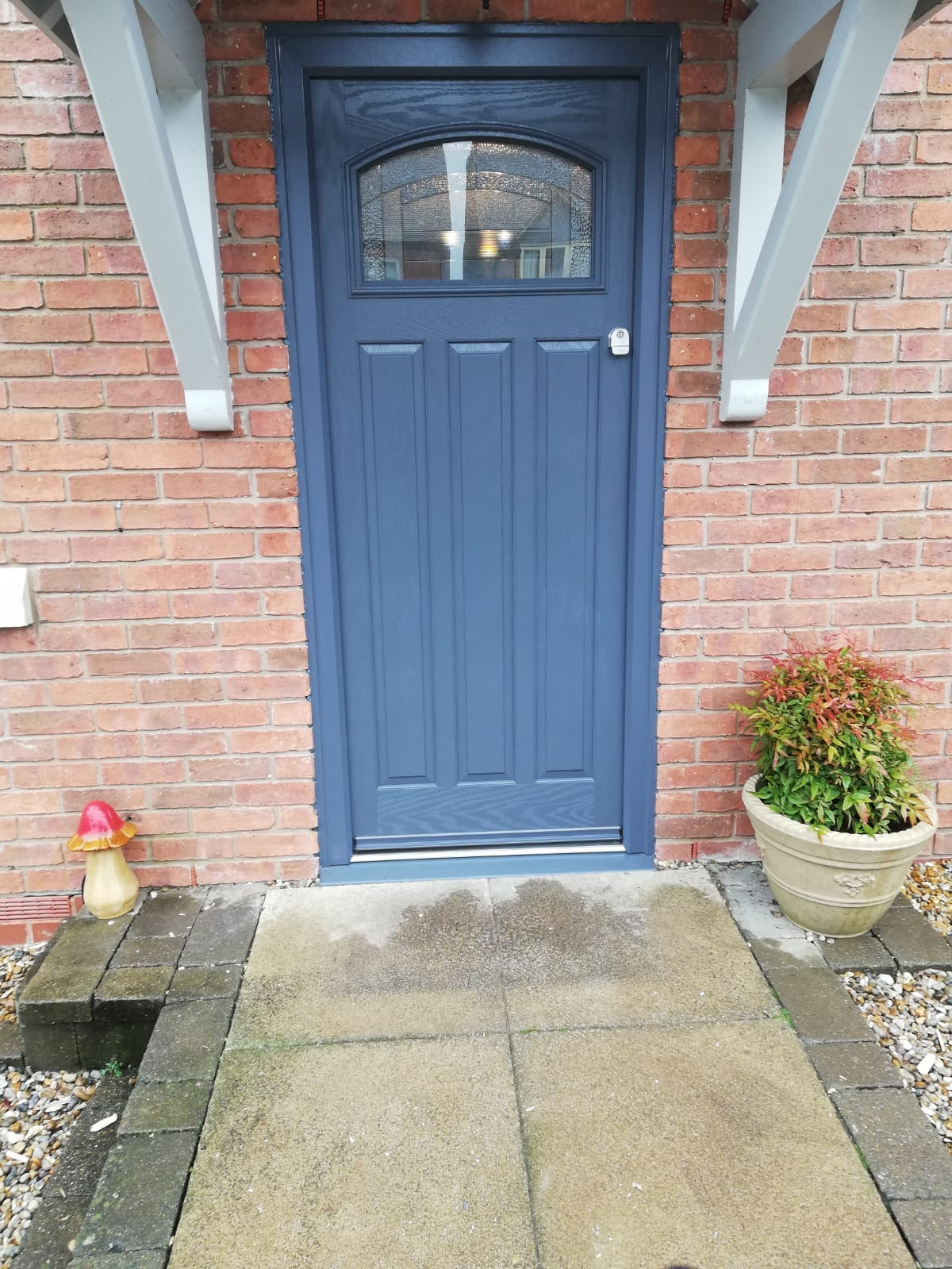 Slate Grey Composite Door