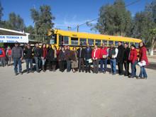Donación de camión escolar a la secundaria técnica no.5